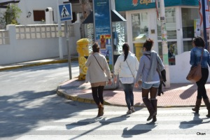 fashion años 2011, representativa de la posición de fortaleza de la mujer en la sociedad.