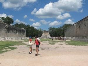 Chichén Itzá, el Frontón