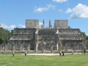 Chiché Itzá, el trmplo de los guerreros