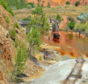 recorrido tren minero