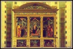 San Zeno, Triptico de Andrea Mantegna (1457-59)