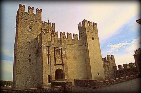 Castilo De Scaligier, Sirmione en el lago de Garda