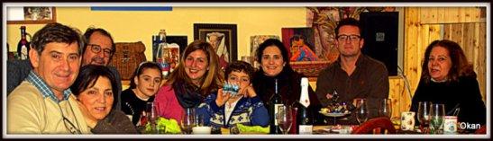 En casa de Amparo y Luis