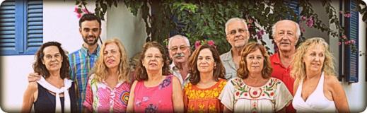 Hermanas AB, Tere, Pepe Jr, José Enrique, Iñigo y Pepe