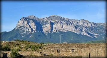 Peña Montañesa desde Ainsa